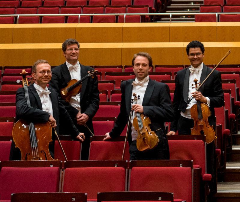 Das Quartett der Münchner Philharmoniker