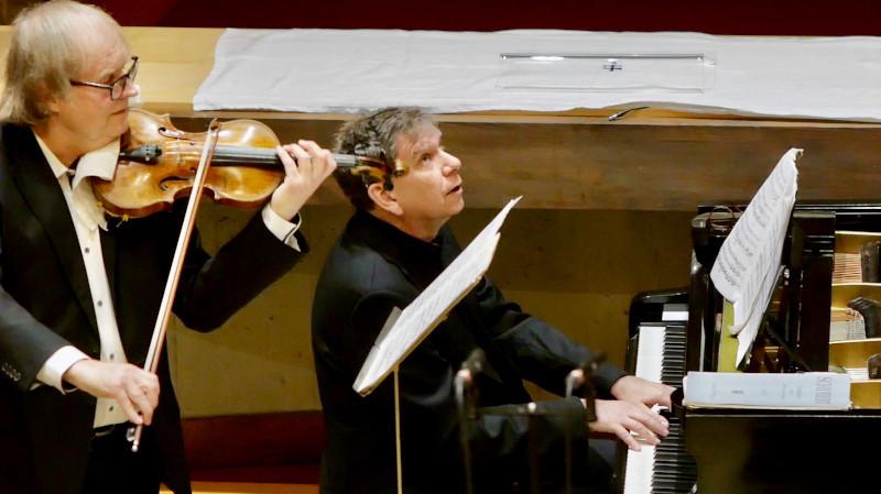 Photos : Concert N°3 — Carte blanche : piano & violon