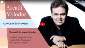 Concert Nº 1 — ARCADI VOLODOS : Au-delà du piano...