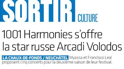 ArcInfo : « 1001 Harmonies s'offre la star russe Arcadi Volodos »