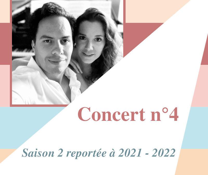 Concert n°4La vie à deux… pianos!