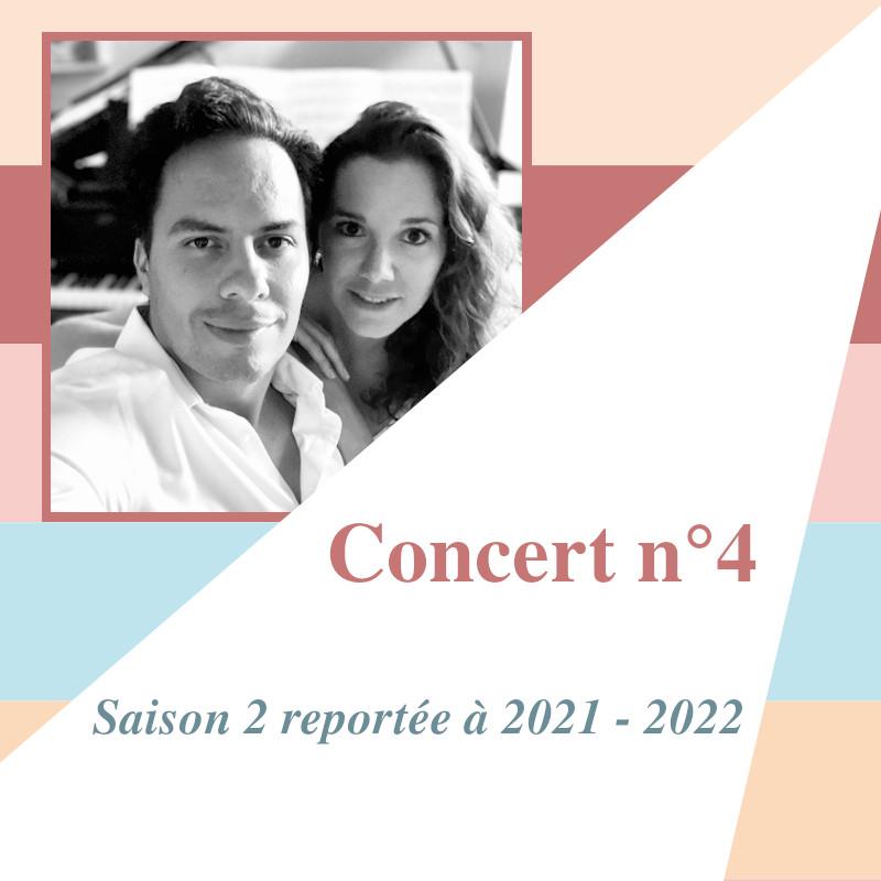 Concert 4 reporté