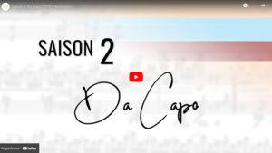 Vidéo Saison 2 Da Capo 1001 Harmonies