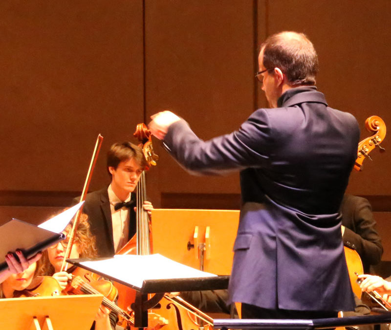 Guillaume Berney, chef d'orchestre